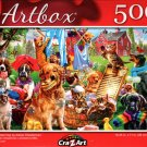Pets on Wash Day by Adrian Chasterman - 500 Pieces Jigsaw Puzzle
