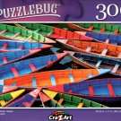 Colorful Boats, Nepal - 300 Pieces Jigsaw Puzzle