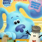 Nickelodeon Blue's Clues & You - Jumbo Coloring & Activity Book - Where's Blue?