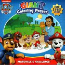 Nickelodeon Paw Patrol - Giant Coloring Poster - Marshall's Challenge! - over 3 Feet Wide