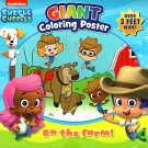 Nickelodeon Bubble Guppies - Giant Coloring Poster - On the Farm! - over 3 Feet Wide