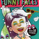 Funny Faces - Coloring Book - Over 50 Stickers - Mermaids