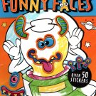 Funny Faces - Coloring Book - Over 50 Stickers - Aliens
