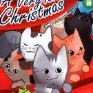 Kappa Books Christmas Edition Holiday Jumbo Coloring and Activity Book ~ A Very Kitten Christmas