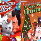 Christmas Edition Holiday Jumbo Coloring and Activity Book ~ (Set of 2 Books)
