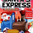 Kappa Books Christmas Edition Holiday Jumbo Coloring and Activity Book ~ Santa's Express