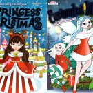 Christmas Edition Holiday Jumbo Coloring and Activity Book - (Set of 2 Books)