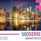 Manhattan Dusk - 500 Pieces Jigsaw Puzzle