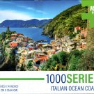 Italian Ocean Coast - 1000 Pieces Jigsaw Puzzle