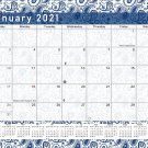 2021 Monthly Magnetic/Desk Calendar - 12 Months Desktop/Wall Calendar/Planner - (Edition #21)