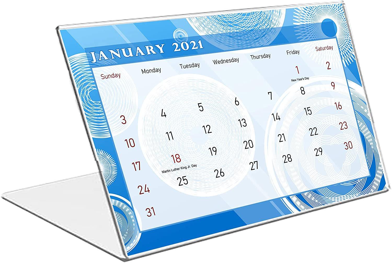 2021 Standing Desk Calendar 12 Months Calendar/Planner/ (Edition #02)
