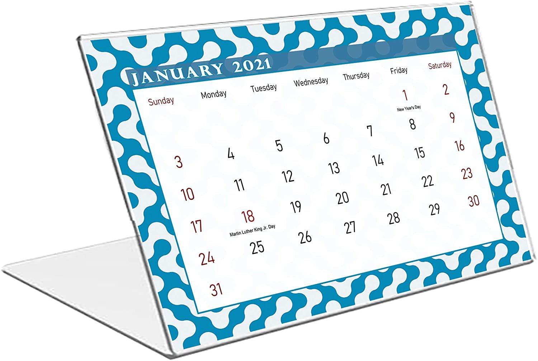 2021 Standing Desk Calendar 12 Months Calendar/Planner/ (Edition #04)