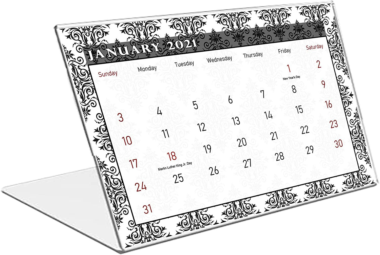 2021 Standing Desk Calendar 12 Months Calendar/Planner/ (Edition #08)