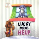 Lucky Needs Help - A Story with Moral Values - Children's Book