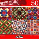 Beautiful Quilt Patterns - 500 Pieces Jigsaw Puzzle
