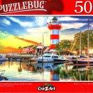 Hilton Head Lighthouse at Dusk, South Carolina - 500 Pieces Jigsaw Puzzle
