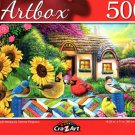 Weekly Quilt Meetup by Corinne Ferguson - 500 Pieces Jigsaw Puzzle