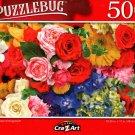 Pretty Flower Arrangement - 500 Pieces Jigsaw Puzzle