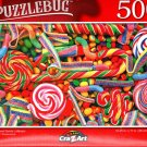 Candies and Swirly Lollipops - 500 Pieces Jigsaw Puzzle