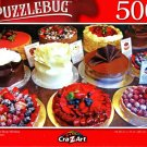 Cakes in a Shop Window - 500 Pieces Jigsaw Puzzle