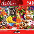 Carious Kittens by Gerald Newton - 500 Pieces Jigsaw Puzzle
