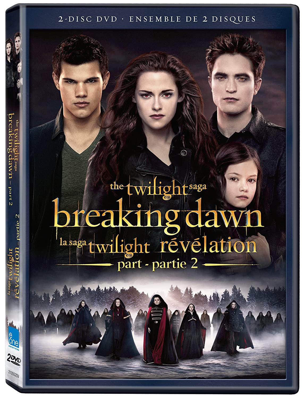 Twilight Saga: Breaking Dawn Pt2 (DVD)