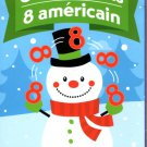 Crazy Eights - Christmas Playing Cards Game - v1