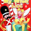 Kappa Books Christmas Edition Holiday Jumbo Coloring and Activity Book ~ My Wish List