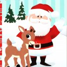 Rudolph - Christmas Edition Holiday - Coloring & Activity Book - Guide My Sleigh