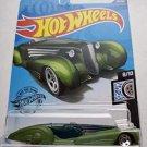 Hot Wheels 2020 Rod Squad Custom Cadillac Fleetwood, Green 121/250
