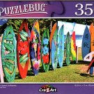 Colorful Hawaii Surfboards - 350 Pieces Jigsaw Puzzle