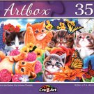 Playtime in The Garden II by Vivienne Chanelle - 350 Pieces Jigsaw Puzzle