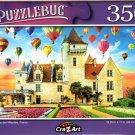 Chateau des Milandes, France - 350 Pieces Jigsaw Puzzle