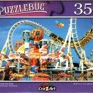 Amusement Park Rides - 350 Pieces Jigsaw Puzzle