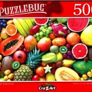 Beautiful Tropical Fruits - 500 Pieces Jigsaw Puzzle