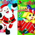 Coloring and Activity Book ~ Yappy Christmas & Christmas Cheer (Set of 2 Books)