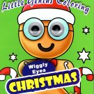 Vision.St Little Genius - Christmas Holiday - Wiggly Eyes Coloring Book - v1