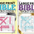 Large Print - Bible Word Finds - Vol.10 - Vol.11 (Set of 2 Books)