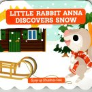 Little Rabbit Anna Discovers Snow - Christmas Pop-Up Board Books