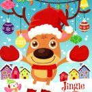Colortivity - Christmas Holiday - Coloring and Activity Book ~ Jingle All The Way