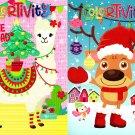 Christmas Holiday - Coloring and Activity Book ~ Jingle All The Way and Fleece Navidad