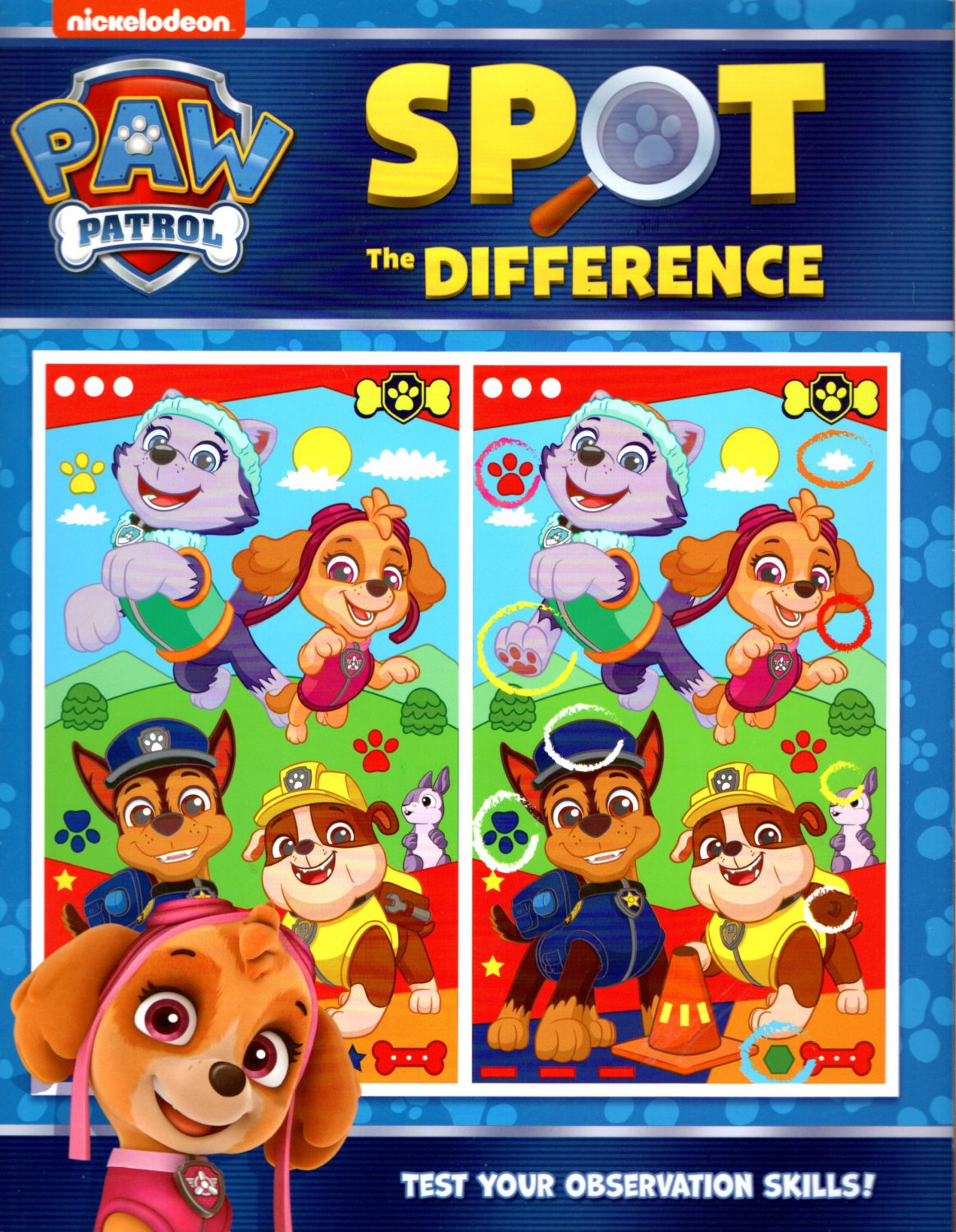 Nickelodeon Paw Patrol - Spot the Difference - Test Your Observation Skills!