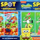 SpongeBob Squarepants and Paw Patrol - Spot the Difference - Test Your Observation Skills!