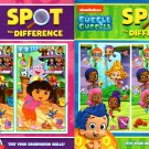 Nickelodeon Bubble Guppies and Dora the Explorer - Spot the Difference