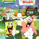 SpongeBob Squarepants - Sticker by Number Activity Book Over 100 Stickers