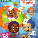 Nickelodeon Bubble Guppies - Sticker by Number Activity Book Over 60 Stickers