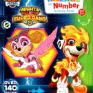 Nickelodeon Paw Patrol - Sticker by Number Activity Book Over 140 Stickers