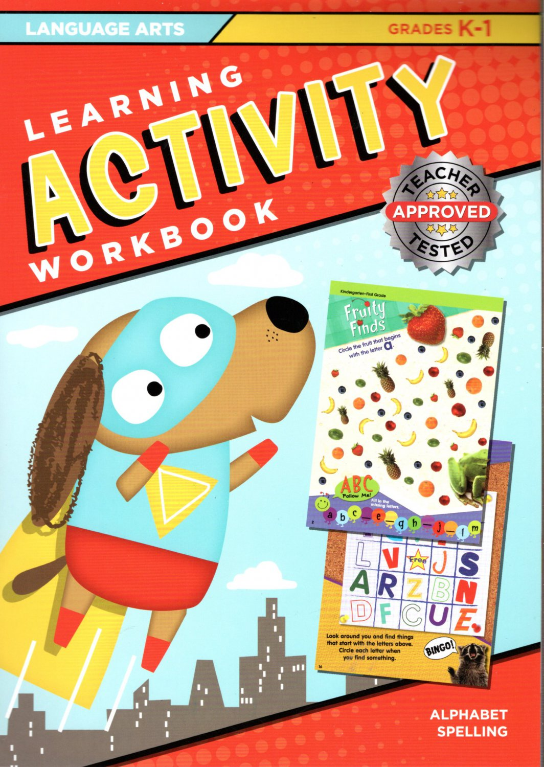 Learning Activity Workbook - Language Arts Grades K 1 - Alphabet Spelling