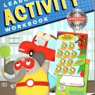 Learning Activity Workbook - Math Grades K 1 - Colors Number Shapes