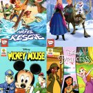 Disney Princess, Mickey Mouse, Frozen, Toy Story Comics Book - Issue 4 (Set of 4 Books)